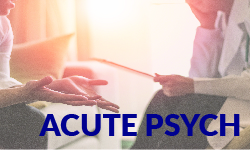 Acute Psych unit description