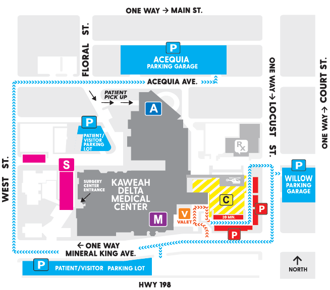parking changes map